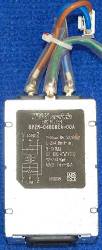 Power Input EMC Filter RPEN-04808EA-00A от телевизора Panasonic TH-R42EL80K, TH-R42PV80