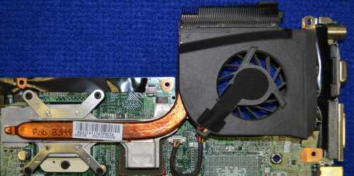 Вентилятор KSB0605HB с радиатором RSI3IAT1TATP803A от HP Pavilion dv6812er