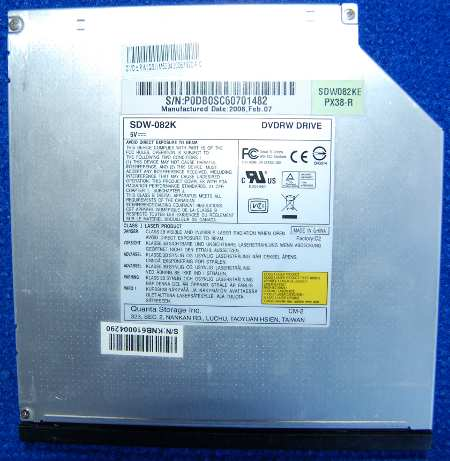 DVD-RW Drive SDW-082K от ноутбука iMango 8000DX
