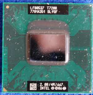 Intel® Core™2 Duo Processor T7200