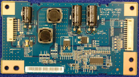 LED Driver Board ST420AU-4S01 Rev:1.0 от телевизора Sony KDL-42W653A