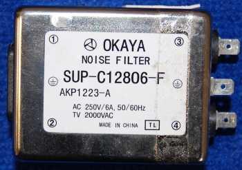 Шумовой фильтр SUP-C12806-F от телевизора Pioneer