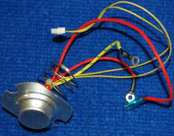 Нижний датчик в сборе с теплопредохранителем для мультиварки POLARIS