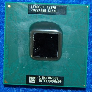 Процессор Intel Pentium Dual Core LF80537 T2390 1860МГц от ноутбука Samsung NP-R20Y