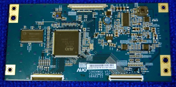 T-Con Board T260XW02 V7/T315XW02VD от телевизора Philips 32PFL5332S/60