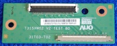 Logic Board T315XW02 V2 от телевизора LG 32LS3500