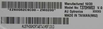 Матрица T370HW03