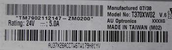 Матрица T370XW02