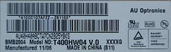 Sony KDL-40EX521