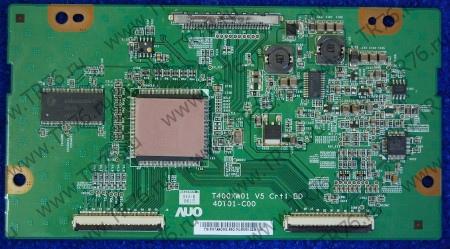 T-con Board T400XW01 V5 40T01-C00 от телевизора Samsung LE40A330J1