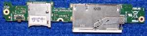 Плата с разъемами SIM, SD TF300TG_Subboard Rev.1.3 от планшета Asus TF300TG