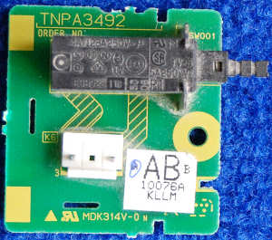 Power Button Board TNPA3492