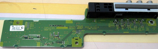 Input Board TNPA3764 от телевизора Panasonic TH-42PV60RH