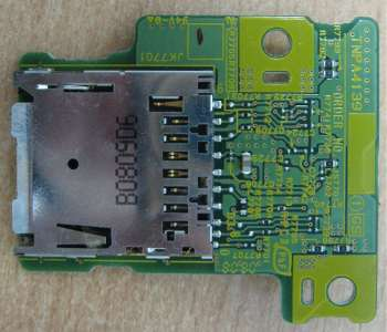 SD Card Reader Board TNPA4139 от телевизора Panasonic TH-R42EL80K, TH-R42PV80