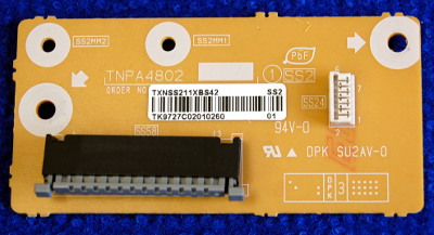 Interface Board TNPA4802 от телевизора Panasonic TX-PR42U10