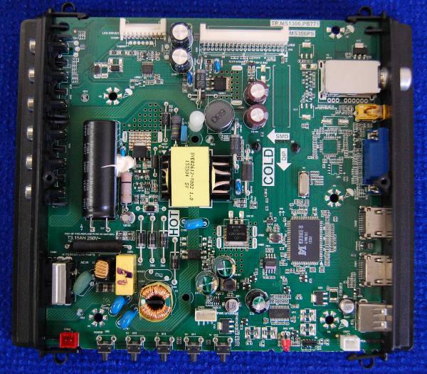 Main Board TP.MS1306.PB771 от телевизора Fusion FLTV-32C12 V1P14