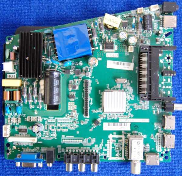 Main Board TP.MS3463S.PB801 от телевизора Dexp