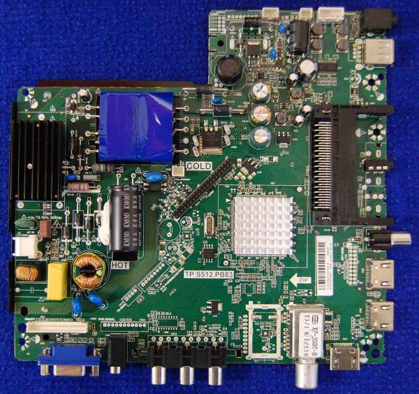 Main Board TP.S512.PB83  от телевизора DEXP F32C7100B/W