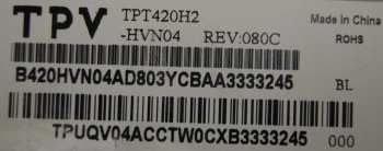 матрица TPT420H2-HVN04