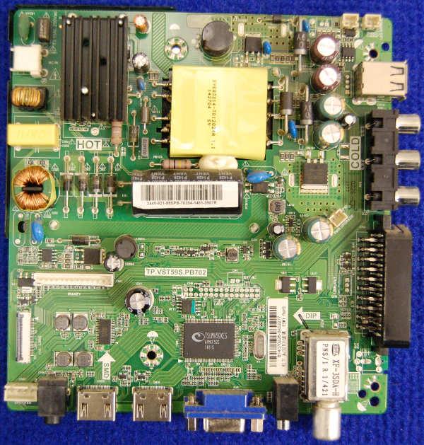 Main Board TP.VST59S.PB702 (AJ32ЕT01) от телевизора Supra STV-LC32520WL