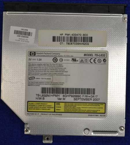 DVD-RW Drive TS-L632 от HP Pavilion dv6812er