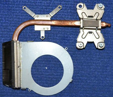 Радиатор TS110711-P002-R13-D6-P от ноутбука