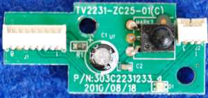 IR Board TV2231-ZC25-01(C) от телевизора Mystery MTV-2411LW V5L11