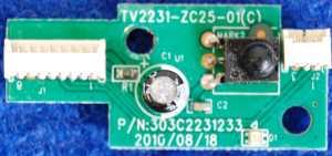 IR Board TV2231-ZC25-01(C) от телевизора Mystery MTV-2411LW V5L11