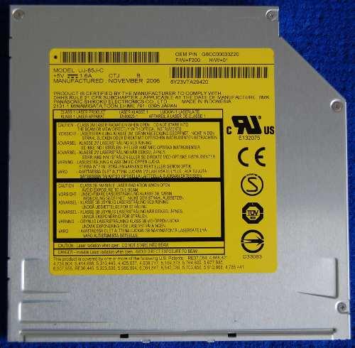 Привод DVD-RW UJ-85J-C