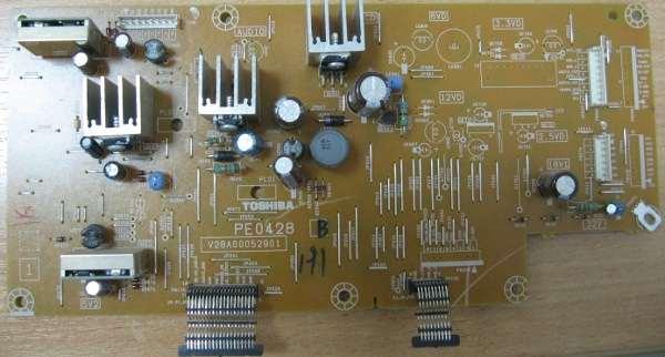 Power Supply  PE0428 V28A00052901 от телевизора Toshiba 40XF350PR