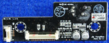 IR Board YW90P96401A от телевизора LG 42PQ100R-ZA
