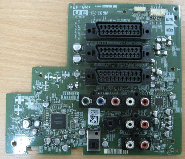 Board 1-870-644-11 (Плата с разъемами) от телевизора Sony KDS-55A2000