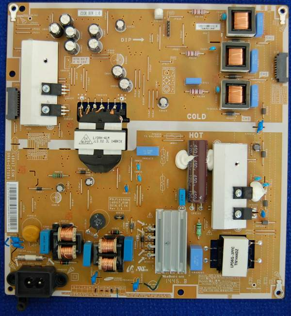 Power Supply Board BN44-00709A L48X1T-ESM от телевизора Samsung UE48H6230AKXRU