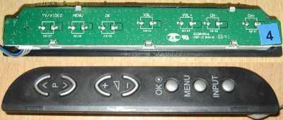 Side Buttons E238400 HXF-S (Панель управления с кнопками) от телевизора LG 42LG3000