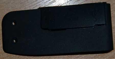 Крышка аудио-видео выхода (Side A/V Out Cover) от фотоаппарата Canon 1000D