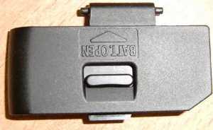 Крышка батарейного отсека (Battery door) фотоаппарата Canon 1000D