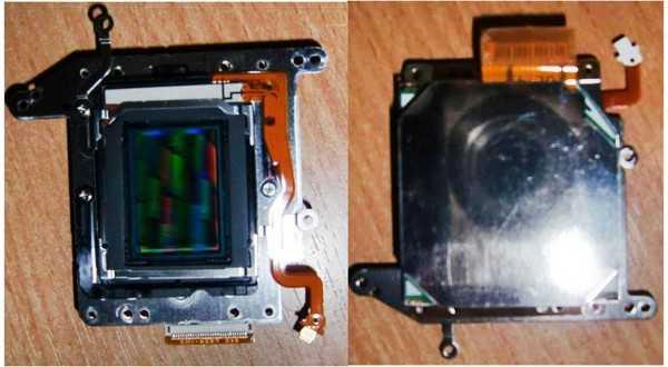 матрица (CCD SENSOR) от фотоаппарата Canon 1000D