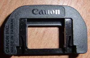 Накладка на окуляр (Eyepiece Eye cup EF) от фотоаппарата Canon 1000D