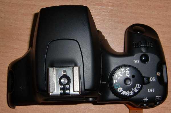 Верхний модуль управления с узлом вспышки от фотоаппарата Canon 1000D