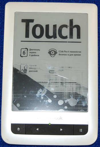 Корпус с кнопками от PocketBook Touch 622