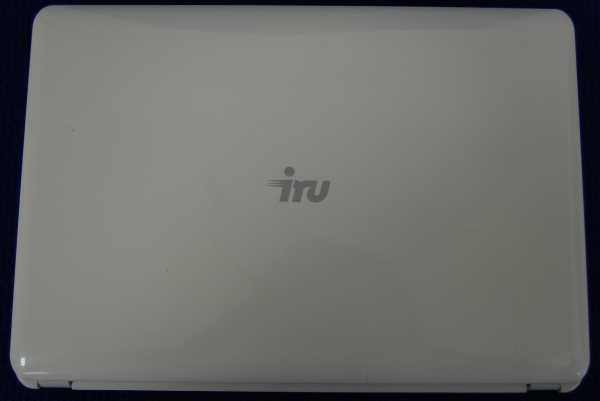 Корпус от нетбука (верх) IRU Smart'MOUV белый б/у
