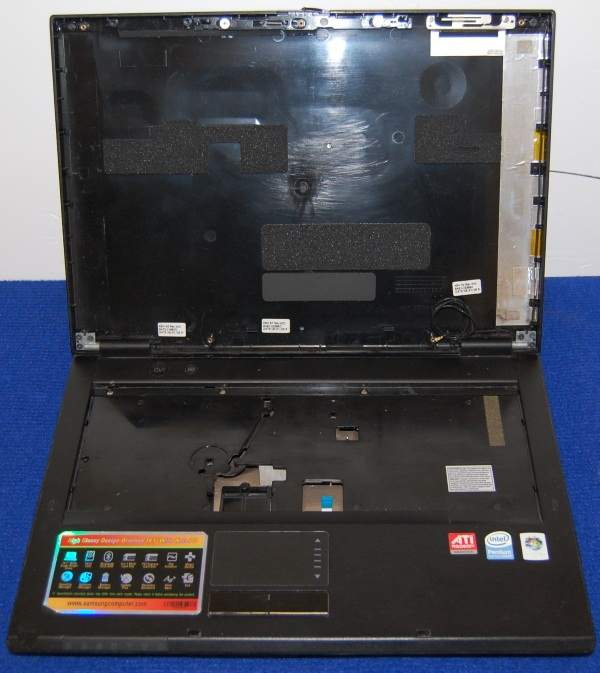 Корпус от ноутбука Samsung NP-R20Y, б/у