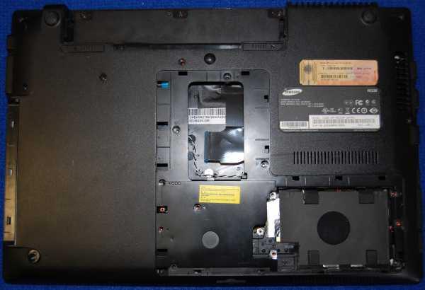 Корпус от ноутбука Samsung NP-RC530