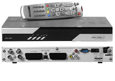Ресивер DRE-5000 на открытые каналы