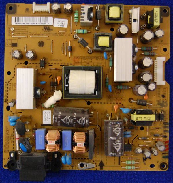 Power Supply Board EAX64881301 (1.7) LGP3213PL2 от телевизора LG 32LA621V-ZD