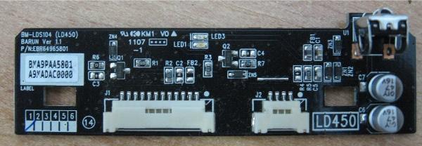 IR Board EBR64965801 от телевизора LG42LK430