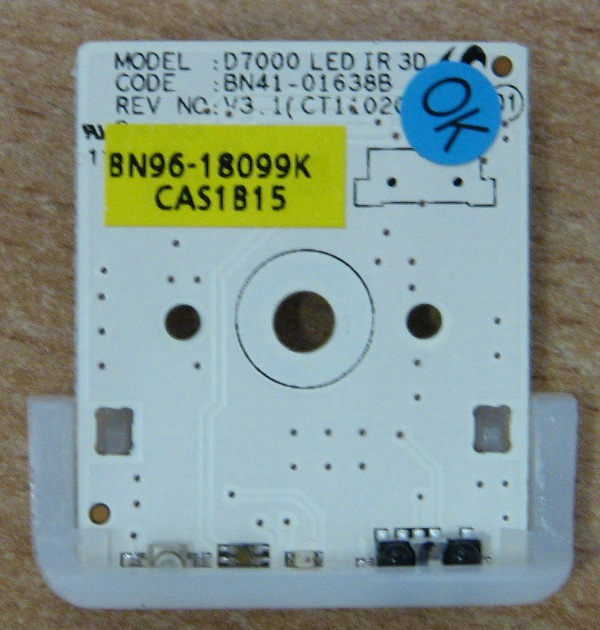 Infrared Remote Sensor BN41-01638B от телевизора Samsung