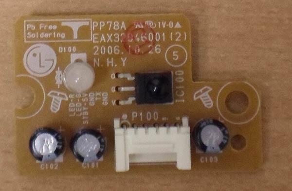 Infrared Remote Sensor EAX32946001 (2) от телевизора  LG42PC51