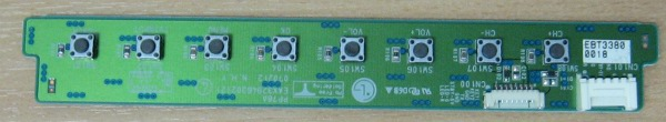 Key Controller Board EAX32946302(2) (Плата с кнопками) от телевизора  LG42PC51