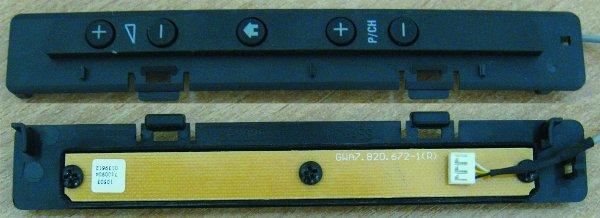 Key Controller Board (Плата с кнопками) GWA7.820.672-1(R)
